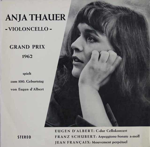 タウアー&フォクトのシューベルト/「アルペジオーネソナタ」ほか 独ATTACCA 3116 LP レコード