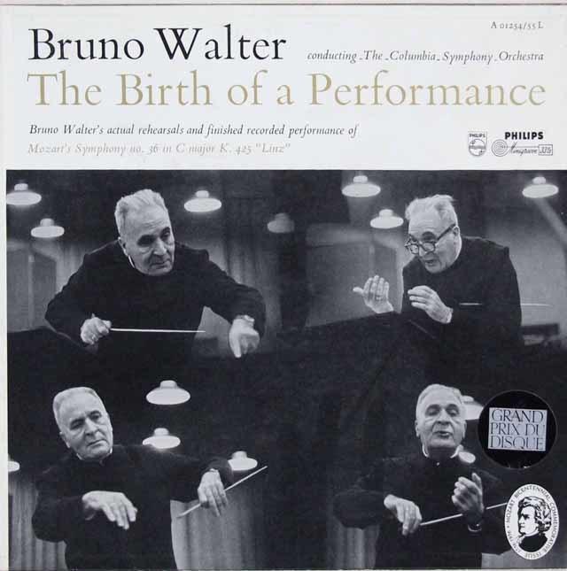 ワルターの「ザ・バース・オブ・ア・パフォーマンス」 蘭PHILIPS 3116 LP レコード