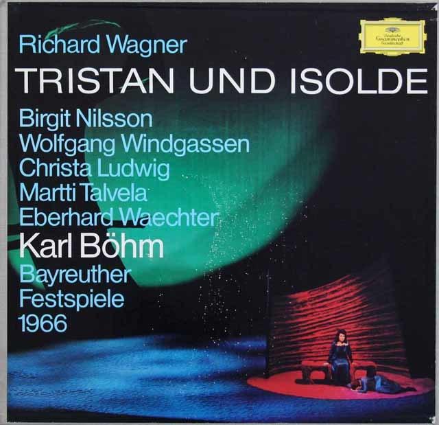 ベームのワーグナー/「トリスタンとイゾルデ」 独DGG 3116 LP レコード
