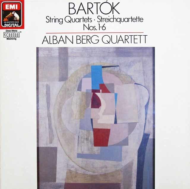 アルバン・ベルク四重奏団のバルトーク/弦楽四重奏曲全集 独EMI 3116 LP レコード