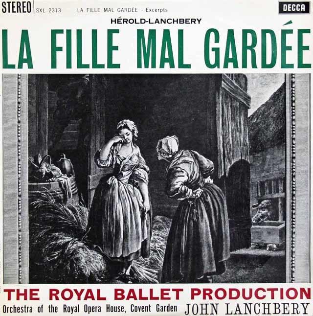 【オリジナル盤】ランチベリーのエロルド/バレエ「リーズの結婚」抜粋 英DECCA 3117 LP レコード