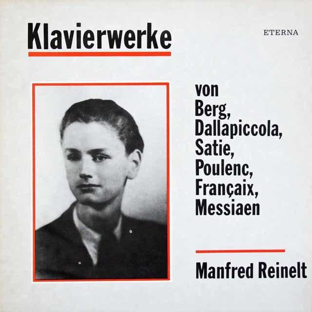 【テストプレス】レイネルトのベルク/ピアノソナタ 作品1ほか 独ETERNA 3117 LP レコード