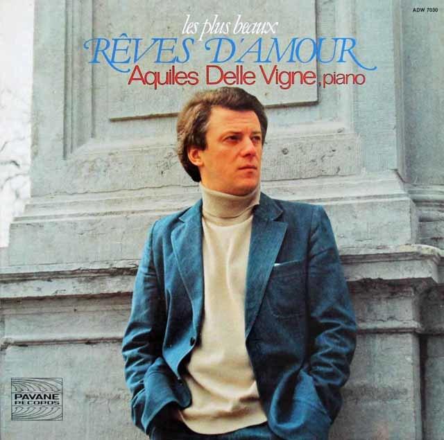 アキルズ・デル・ビンのベートーヴェン/「エリーゼの為に」ほかピアノ小曲集 仏PAVANE RECORDS 3117 LP レコード