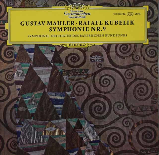 クーベリックのマーラー/交響曲第9番 独DGG 3118 LP レコード
