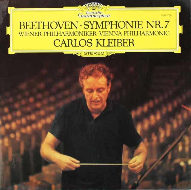 クライバーのベートーヴェン/交響曲第7番 独DGG 3118 LP レコード