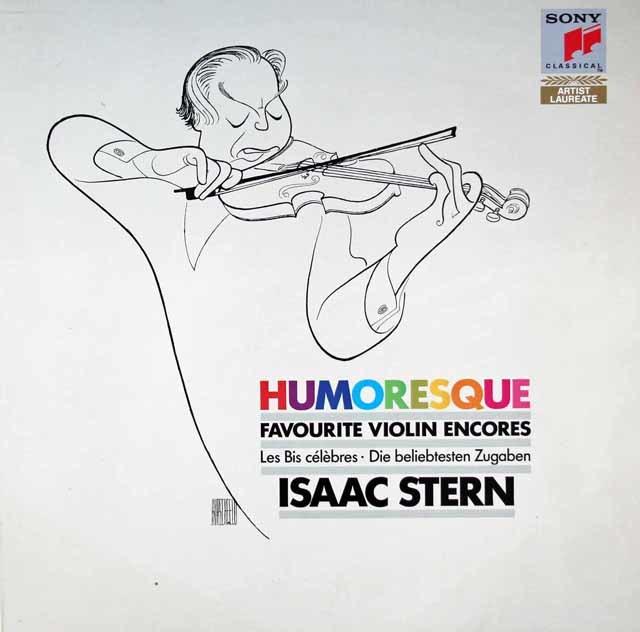 スターンの「ユーモレスク」/愛奏小曲集 独Sony Classical   3118 LP レコード