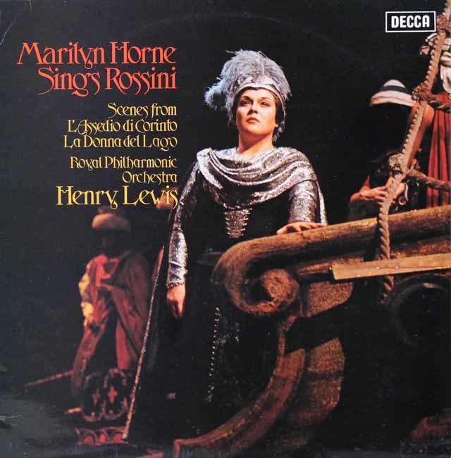 【オリジナル盤】 マリリン・ホーン、ロッシーニを歌う 英DECCA 3119 LP レコード