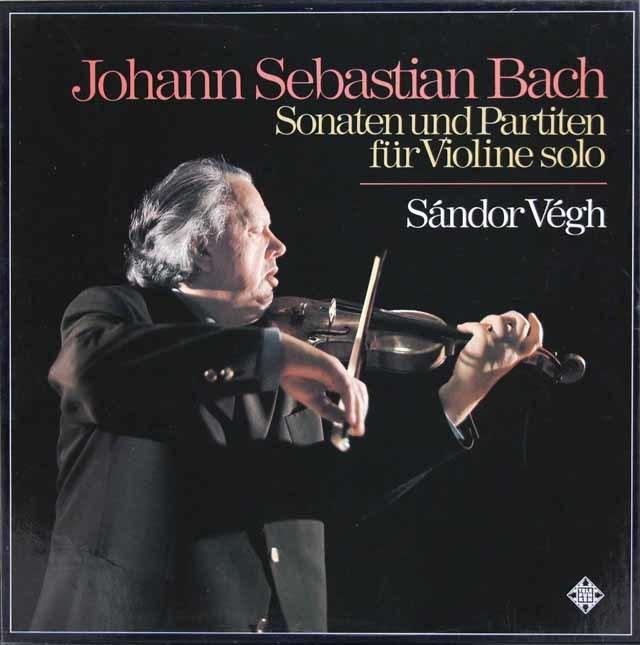 ヴェーグのバッハ/無伴奏ヴァイオリンのためのソナタとパルティータ(全曲) 独TELEFUNKEN 3119 LP レコード