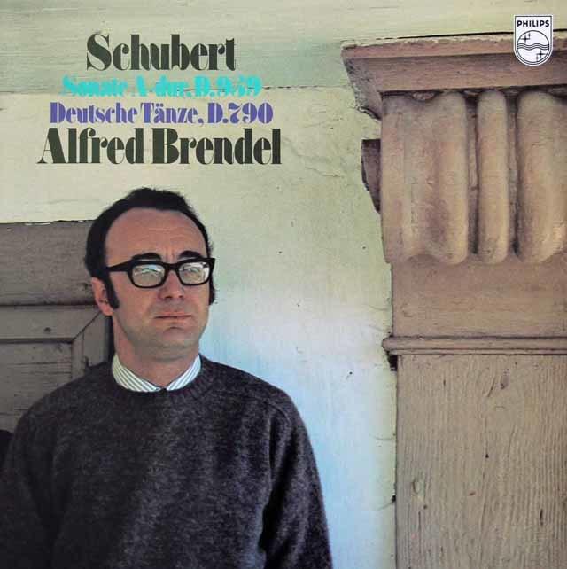 ブレンデルのシューベルト/ピアノソナタ第20番ほか 蘭PHILIPS 3119 LP レコード