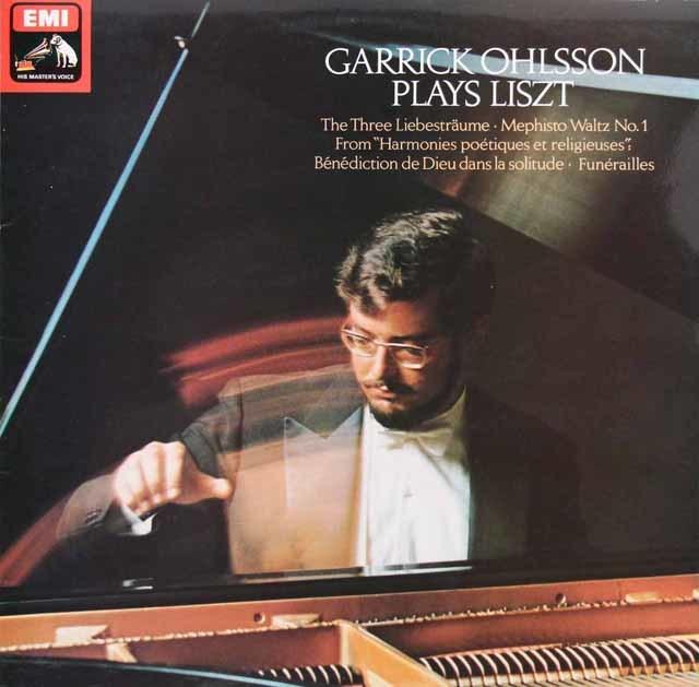オールソンのリスト/3つの夜想曲ほか 英EMI 3119 LP レコード