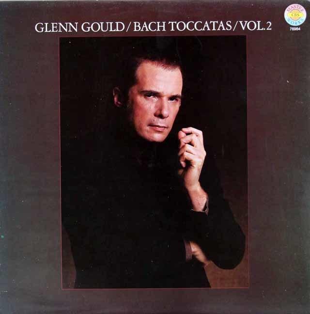 グールドのバッハ/トッカータ集 vol.2 独CBS 3119 LP レコード