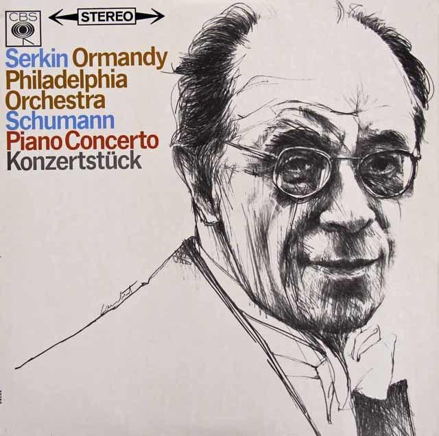 ゼルキン&オーマンディシューマン/ピアノ協奏曲ほか 英CBS 3119 LP レコード