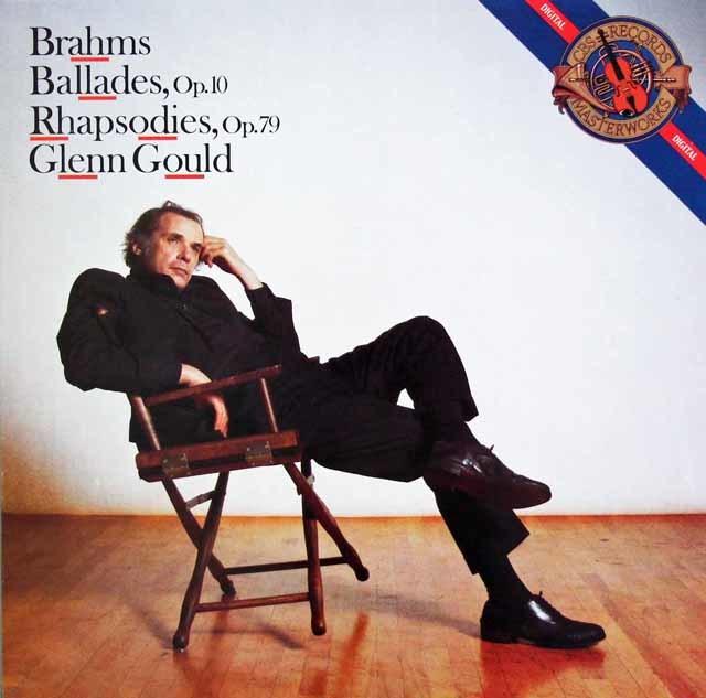 グールドのブラームス/バラード集ほか 蘭CBS 3119 LP レコード