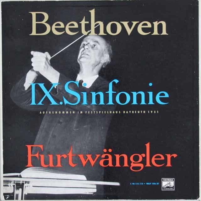 フルトヴェングラーのベートーヴェン/交響曲第9番 独ELECTROLA 3119 LP レコード