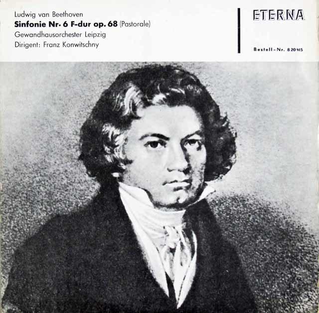コンヴィチュニーのベートーヴェン/交響曲第6番「田園」 独ETERNA 3119 LP レコード