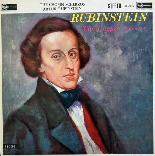 【オリジナル盤】 ルービンシュタインのショパン/スケルツォ集 英RCA 3119 LP レコード