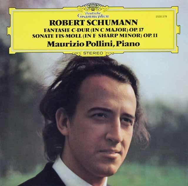 ポリーニのシューマン/ピアノソナタ第1番ほか 独DGG 3120 LP レコード