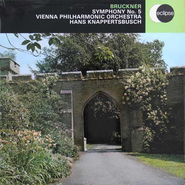 【オリジナル盤】 クナッパーツブッシュのブルックナー/交響曲第5番 英DECCA 3120 LP レコード