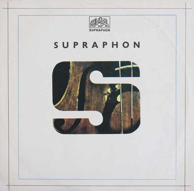 【テストプレス】 ロストロポーヴィチ&ターリヒのドヴォルザーク/チェロ協奏曲  チェコSUPRAPHON 3120 LP レコード