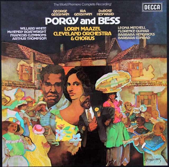 マゼールのガーシュウィン/「ポーギーとベス」 独DECCA 3120 LP レコード
