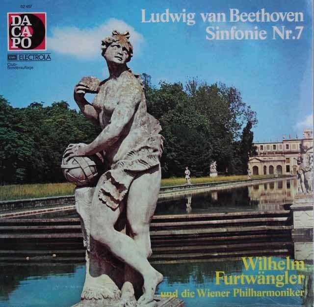 【未開封】 フルトヴェングラーのベートーヴェン/交響曲第7番 独Dacapo 3120 LP レコード