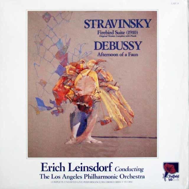 【未開封】 ダイレクトカット! ラインスドルフのストラヴィンスキー/「火の鳥」ほか 米Sheffield Lab 3120 LP レコード