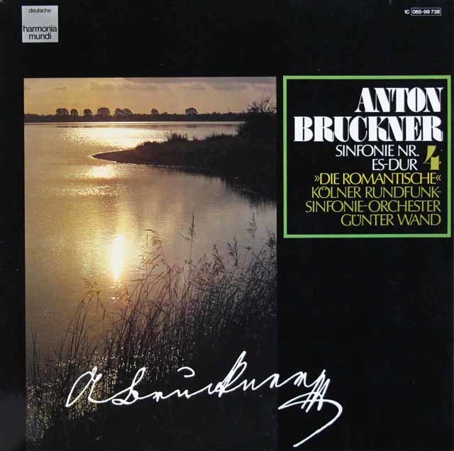 ヴァントのブルックナー/交響曲第5番  独HM 3120 LP レコード