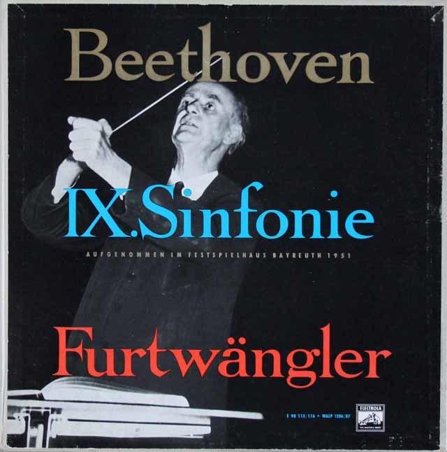 フルトヴェングラーのベートーヴェン/交響曲第9番 独ELECTROLA 3120 LP レコード