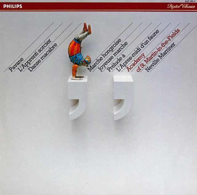 マリナーのラヴェル/「亡き王女のためのパヴァーヌ」ほか 蘭PHILIPS 3121 LP レコード