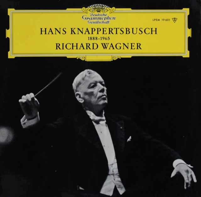 クナッパーツブッシュのワーグナー/「マイスタージンガー」第1幕への前奏曲ほか 独DGG 3121 LP レコード