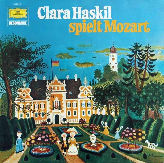 ハスキルのモーツァルト/ピアノ協奏曲第13番ほか 独DGG 3121 LP レコード