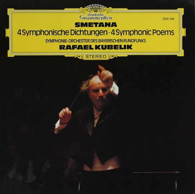 クーベリックのスメタナ/交響詩「リチャード3世」ほか 独DGG 3121 LP レコード