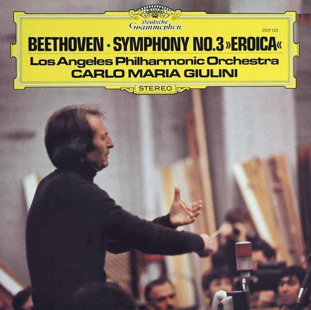 ジュリーニのベートーヴェン/交響曲第3番「英雄」 独DGG 3121 LP レコード