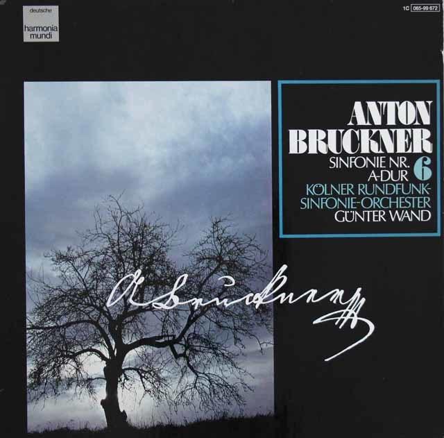ヴァントのブルックナー/交響曲第6番  独HM 3121 LP レコード
