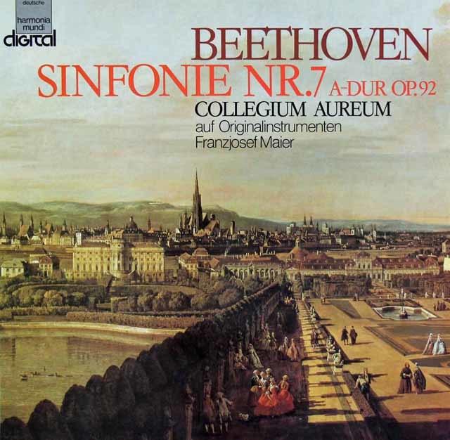 コレギウム・アウレウムのベートーヴェン/交響曲第7番 独HM 3121 LP レコード