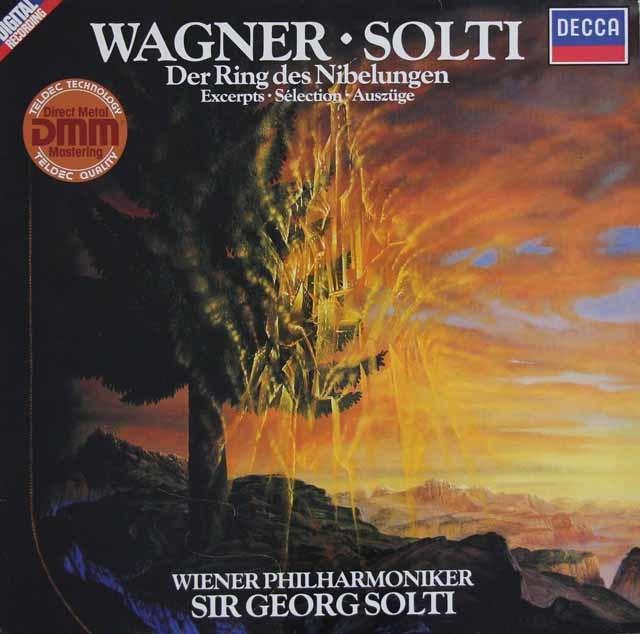 ショルティのワーグナー/「ニーベルングの指輪」抜粋 独DECCA 3121 LP レコード