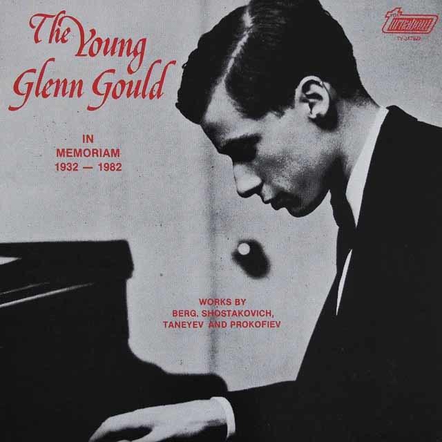 「若きグールド」 カナダturnabout 3121 LP レコード