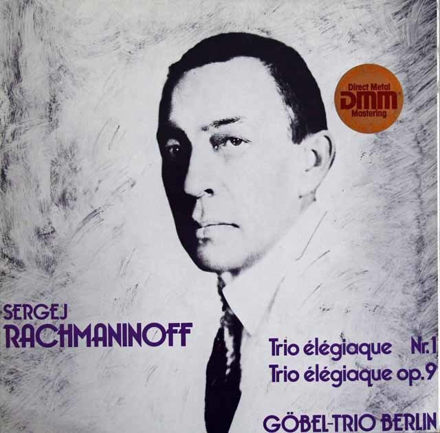 ゲーベル・トリオのラフマニノフ/悲しみの三重奏曲第1&2番 独THOROFON 3121 LP レコード