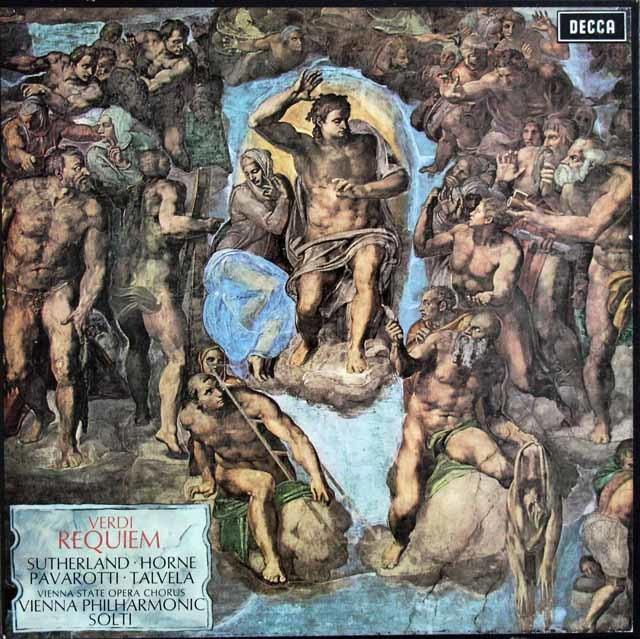 ショルティのヴェルディ/「レクイエム」  英DECCA 3122 LP レコード