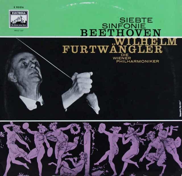 フルトヴェングラーのベートーヴェン/交響曲第7番  独EMI 3122 LP レコード