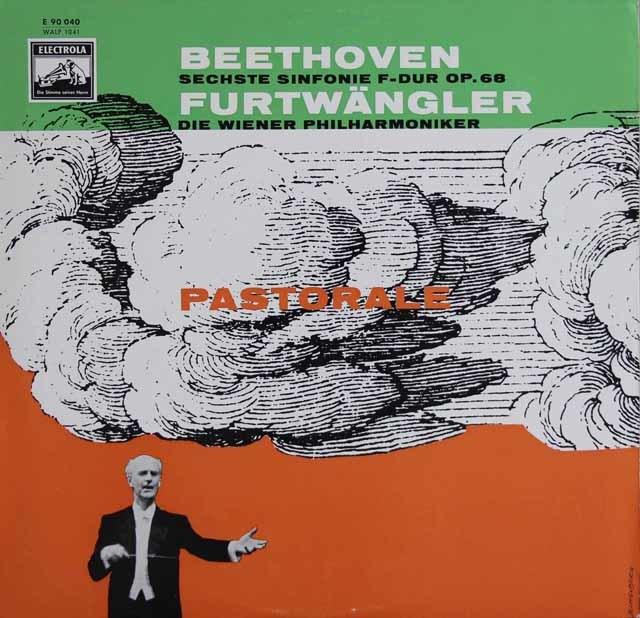 フルトヴェングラーのベートーヴェン/交響曲第6番「田園」  独EMI 3122 LP レコード