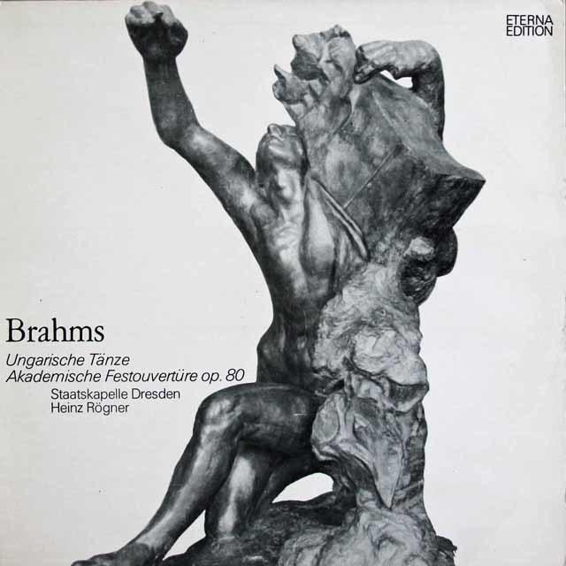 レーグナーのブラームス/ハンガリー舞曲集&大学祝典序曲 独ETERNA 3122 LP レコード