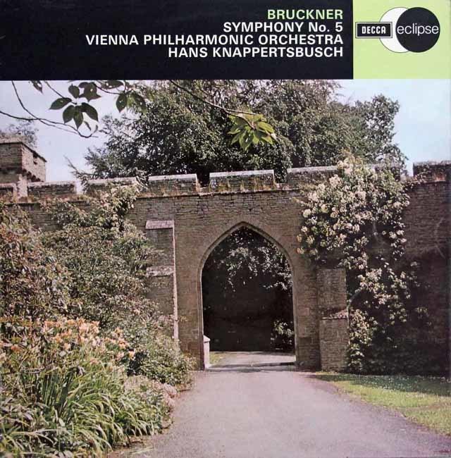 【オリジナル盤】 クナッパーツブッシュのブルックナー/交響曲第5番 英DECCA 3123 LP レコード