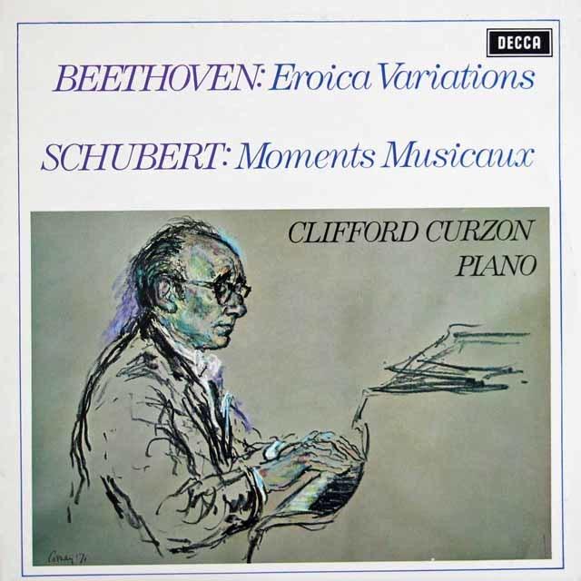 【オリジナル盤】 カーゾンのベートーヴェン/「エロイカ変奏曲」ほか 英DECCA 3123 LP レコード