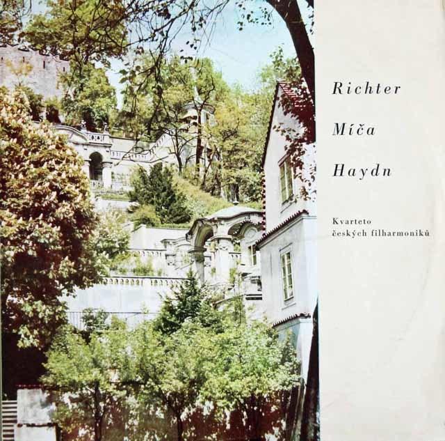 チェコ・フィルハーモニー四重奏団のハイドン/弦楽四重奏曲第32番ほか チェコスロヴァキアSUPRAPHON 3123 LP レコード