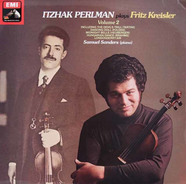【オリジナル盤】パールマンのクライスラー/ヴァイオリン名曲集 vol.2 英EMI 3124 LP レコード