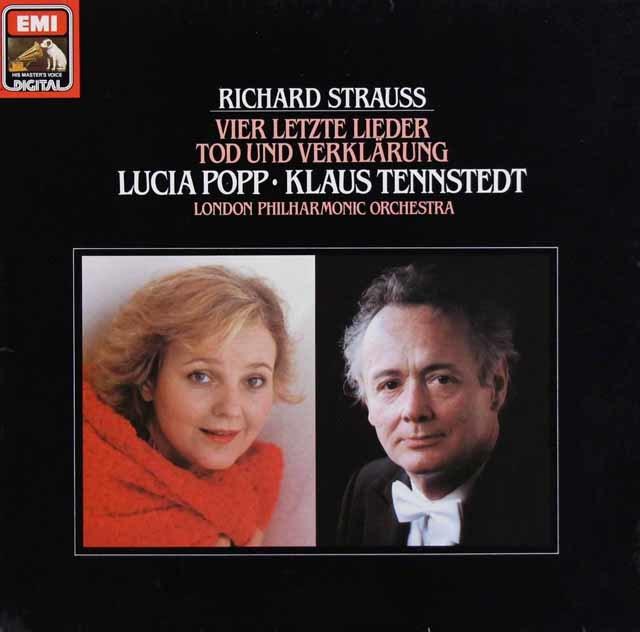ポップ&テンシュテットのR.シュトラウス/4つの最後の歌 独EMI 3124 LP レコード