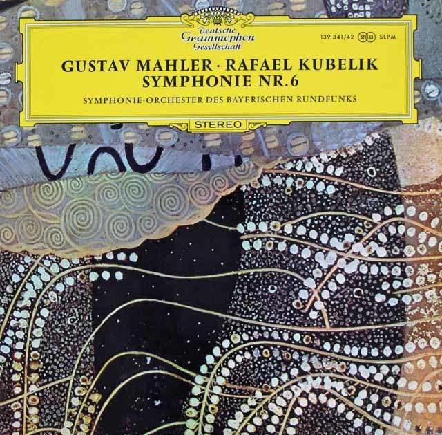 クーベリックのマーラー/交響曲第6&10番 独DGG 3124 LP レコード