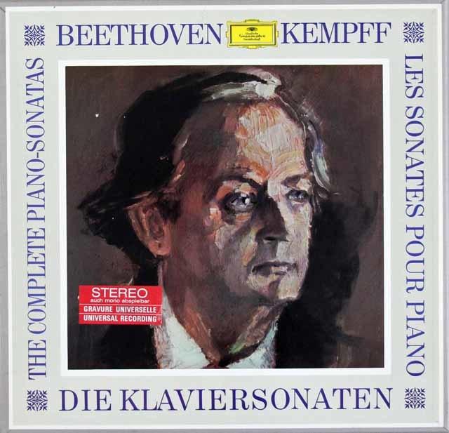 ケンプのベートーヴェン/ピアノソナタ全集 独DGG 3124 LP レコード