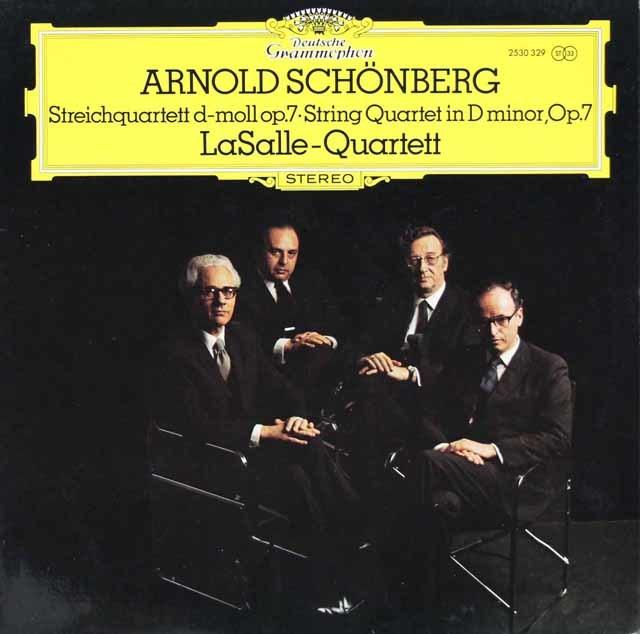 ラサール四重奏団のシェーンベルク/弦楽四重奏曲第1番 独DGG 3124 LP レコード